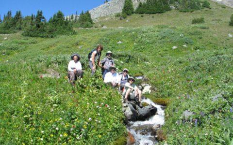 Hiking all four seasons