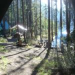 Tent View Leckie Camp