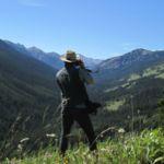 hiking photographer