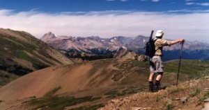 Trekking in the Chilcotin Mountains Park