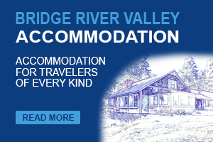 Accommodation in Bridge River Valley banner